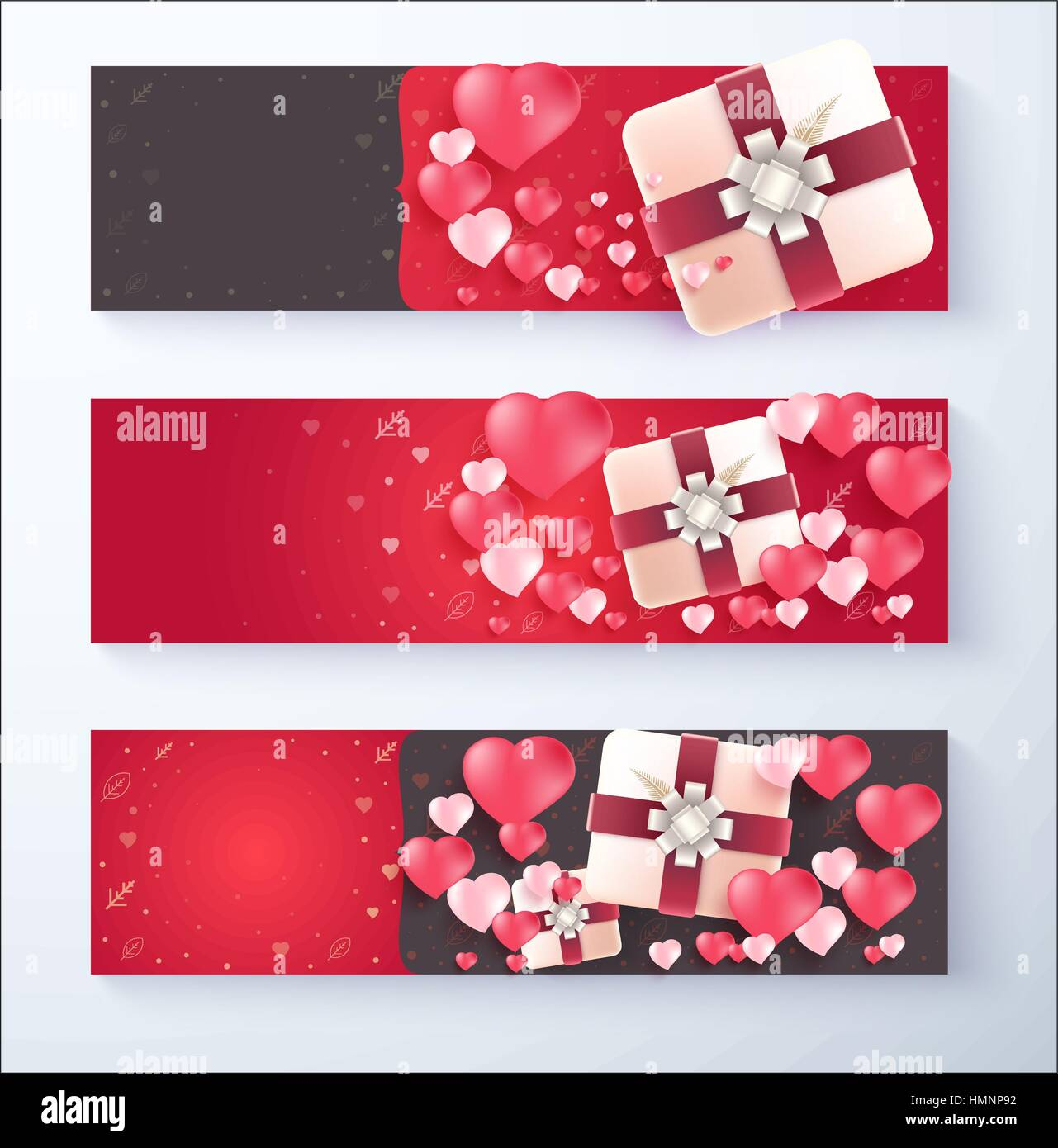 Gift Box Banner For Use Special Offer And Discount Advertise Vector Stock Vector Image Art Alamy