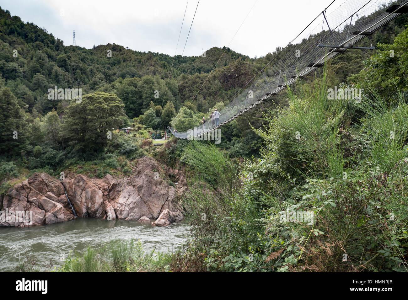 Buller Gorge, South Island, New Zealand. - Stock Image