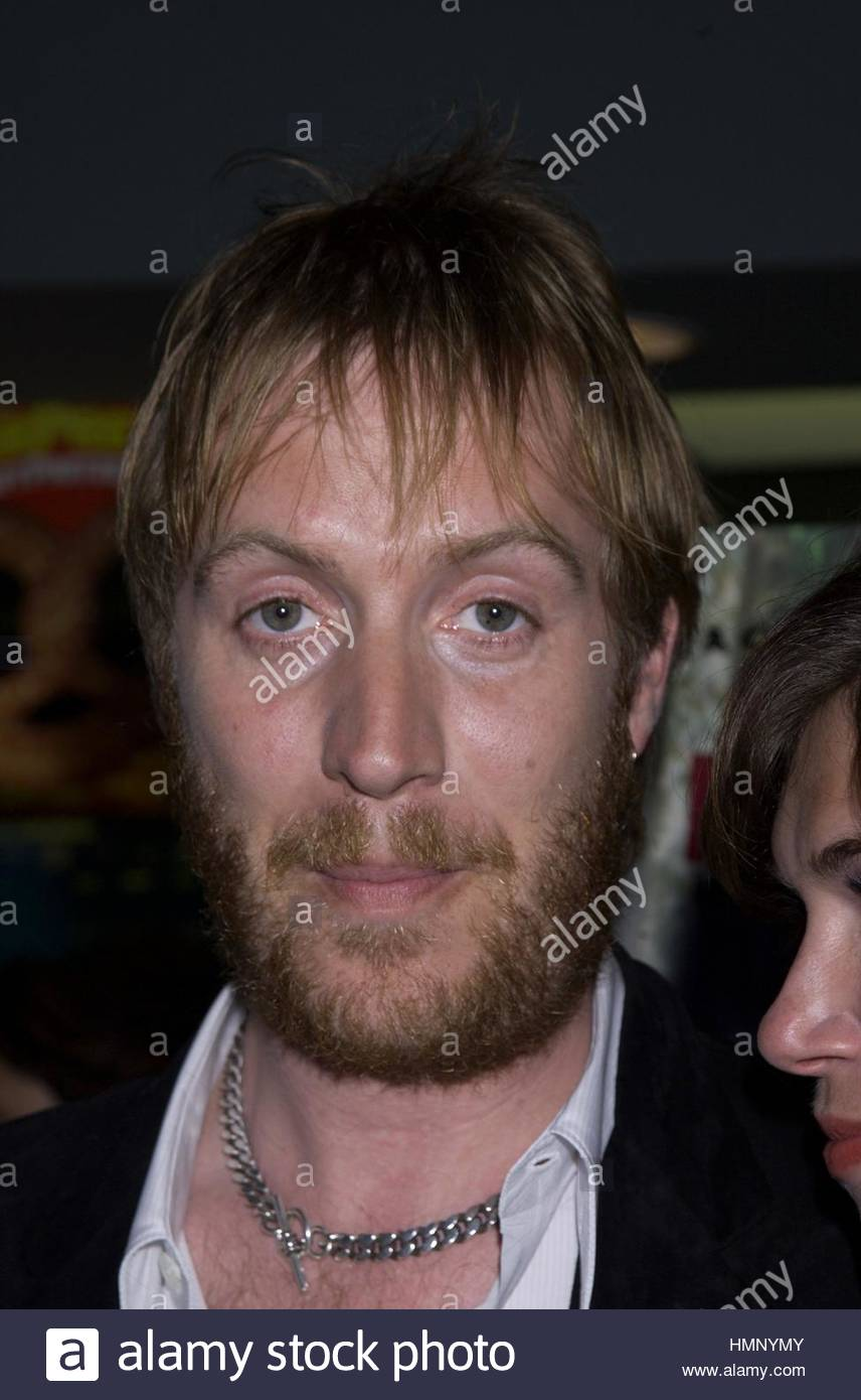 Rhys Ifans at the premiere of his new film ' Human Nature' at the Chelsea View Cinema in New York City April - Stock Image