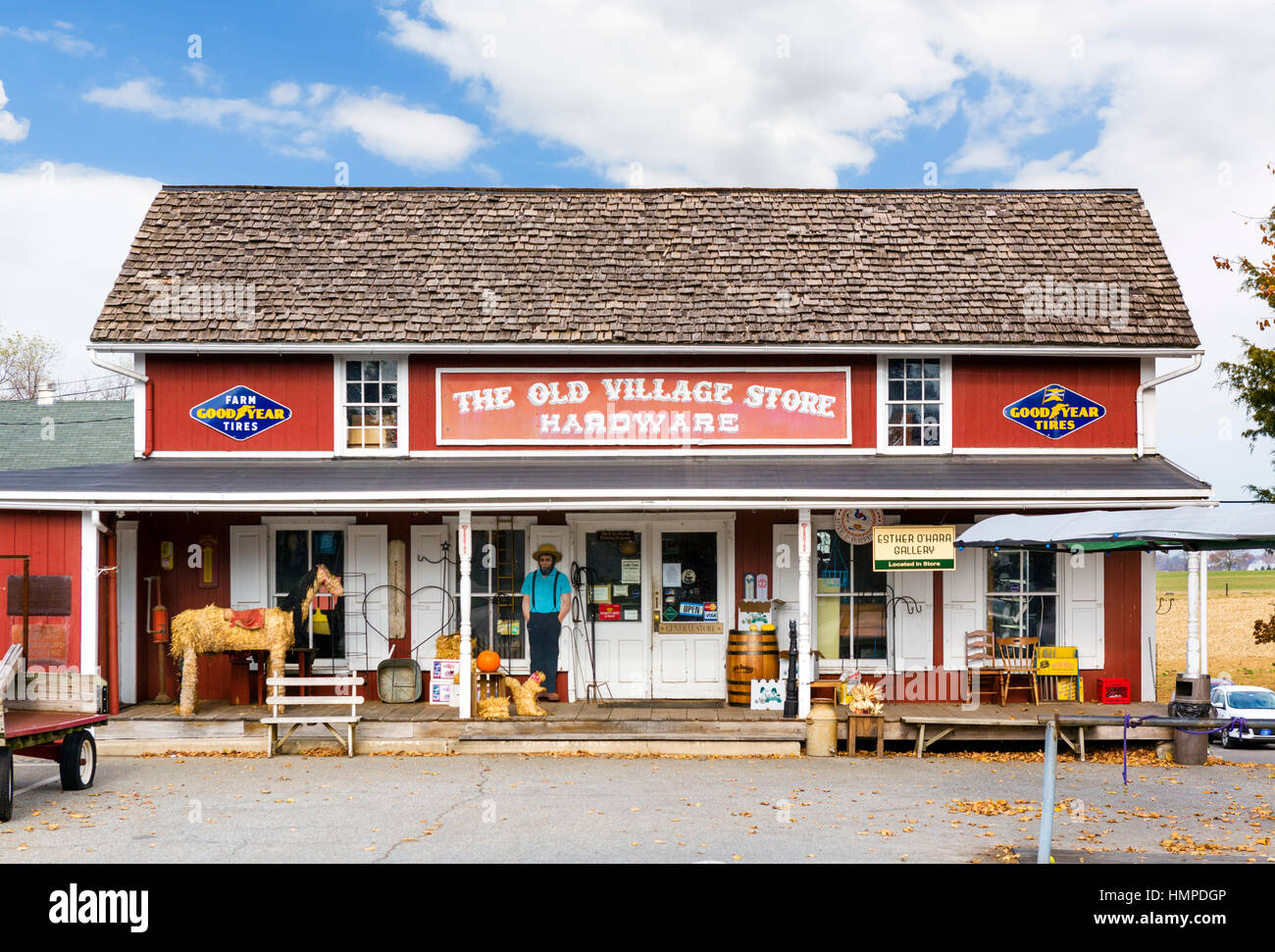 Small Country Towns In America Old Village Store In Bird In Hand A Small Town In The