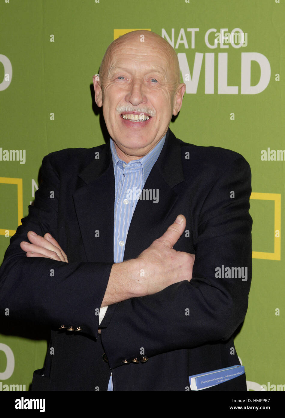 Dr  Jan Pol arrives for the National Geographic Channel TCA
