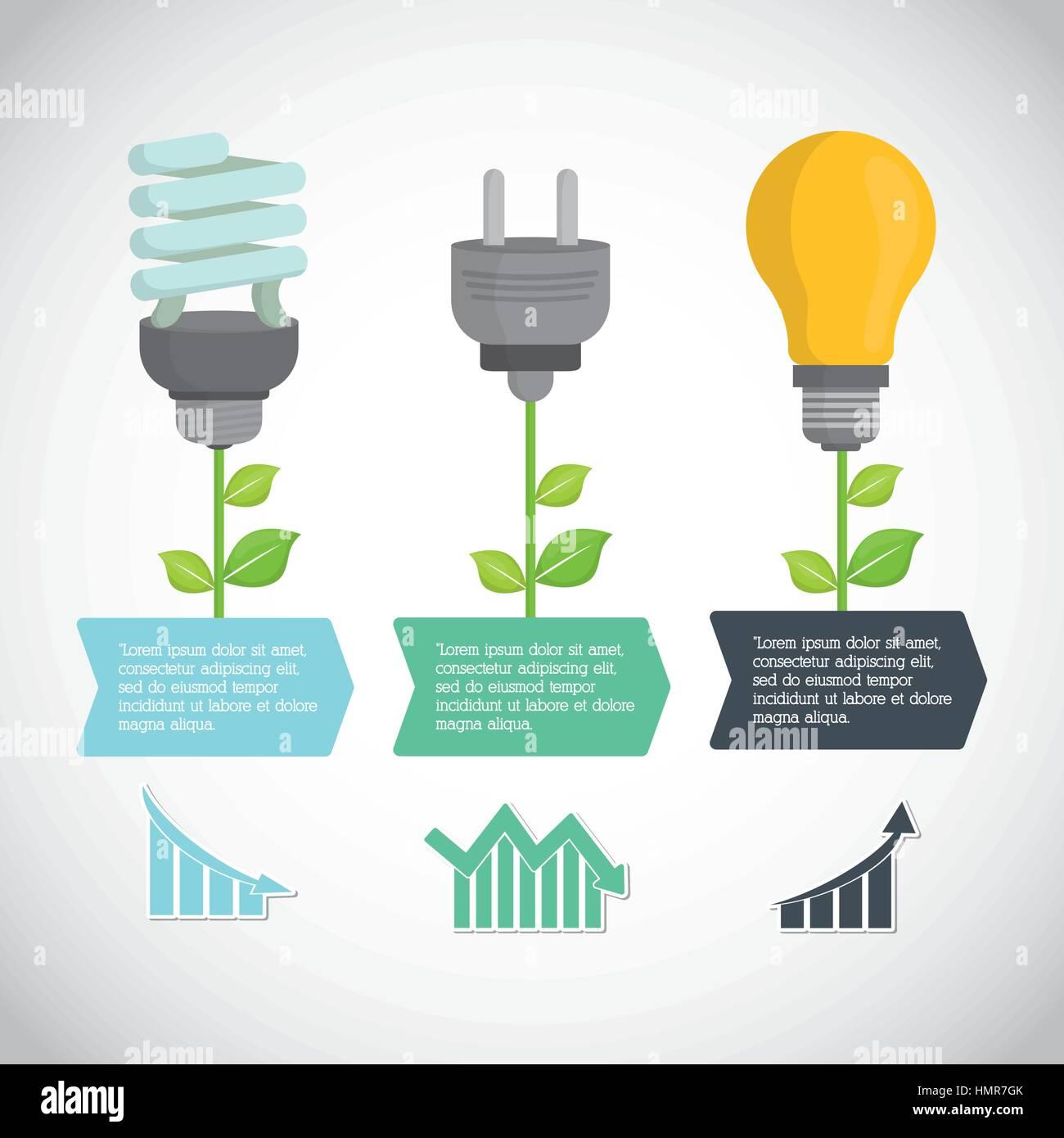 environmental care icon design - Stock Image