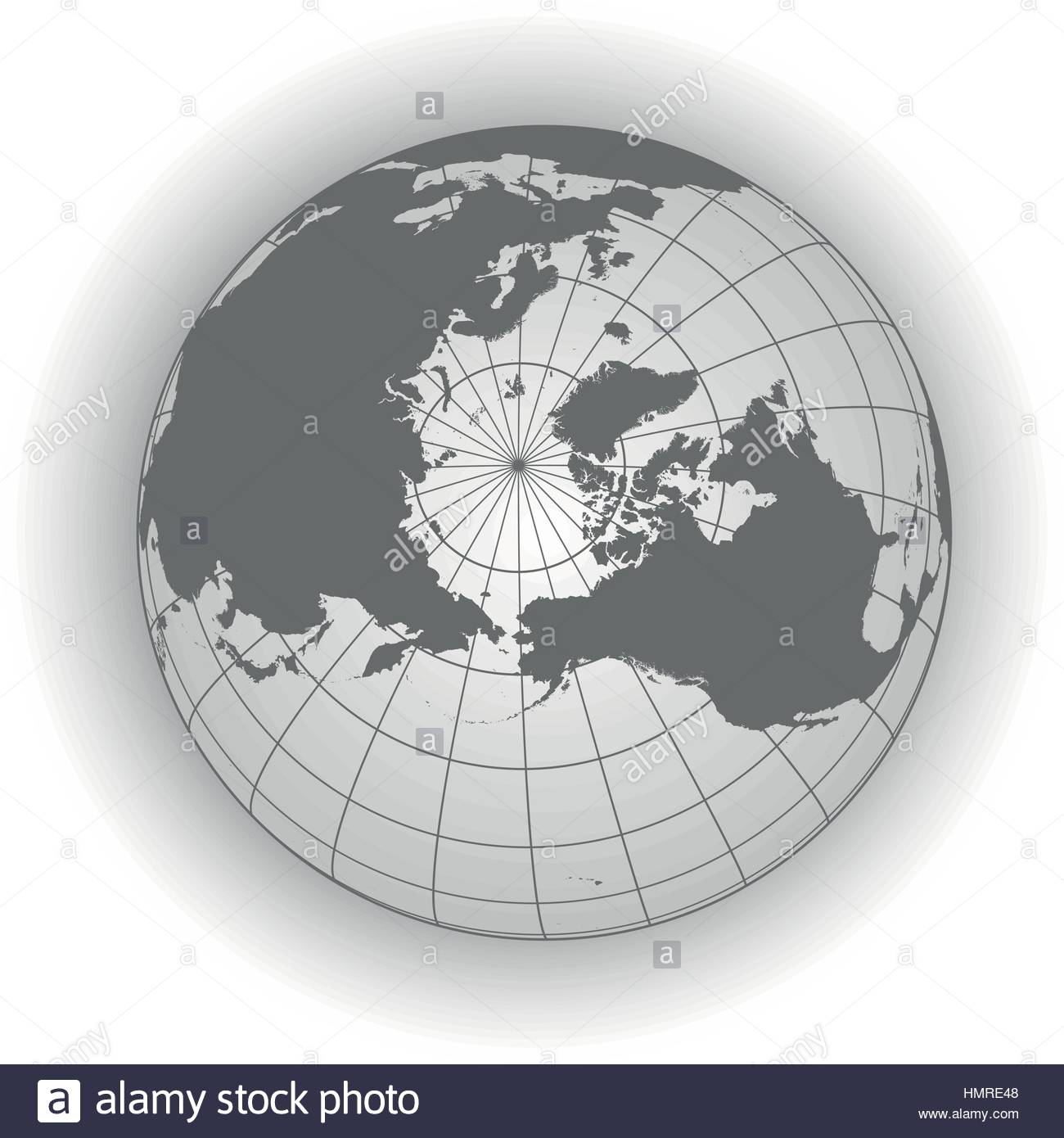 north pole map europe greenland asia america russia earth globe worldmap elements of this image furnished by nasa
