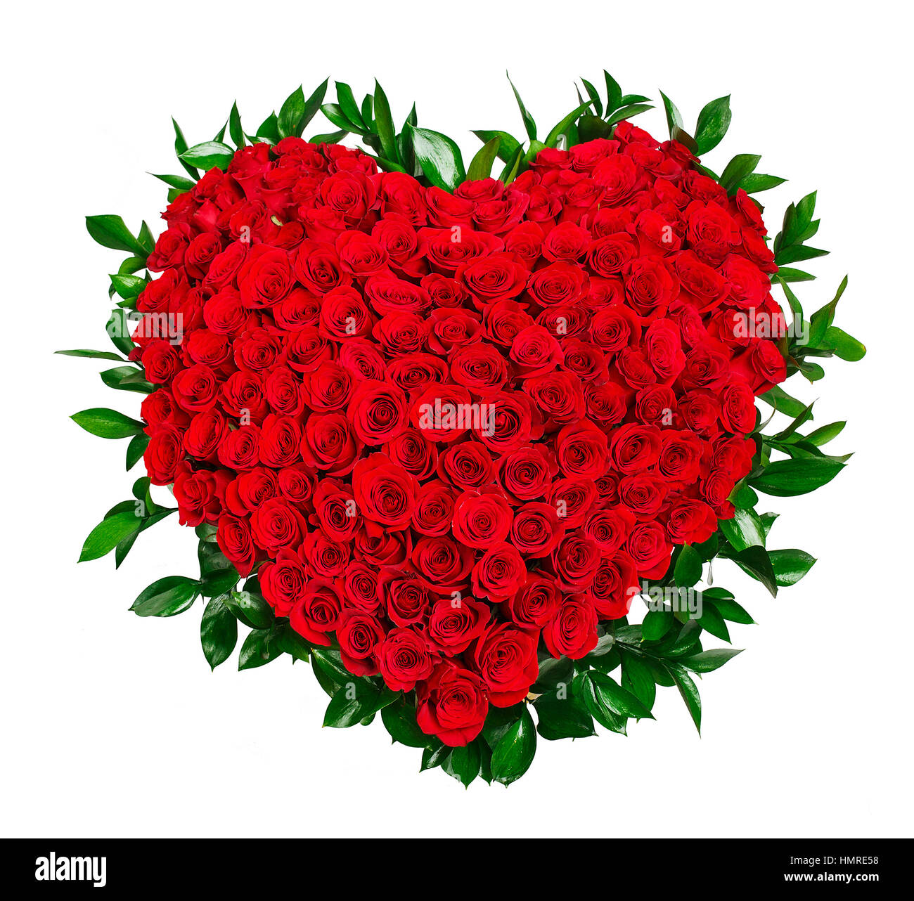 Heart shaped bouquet of red roses Stock Photo: 133281716 - Alamy