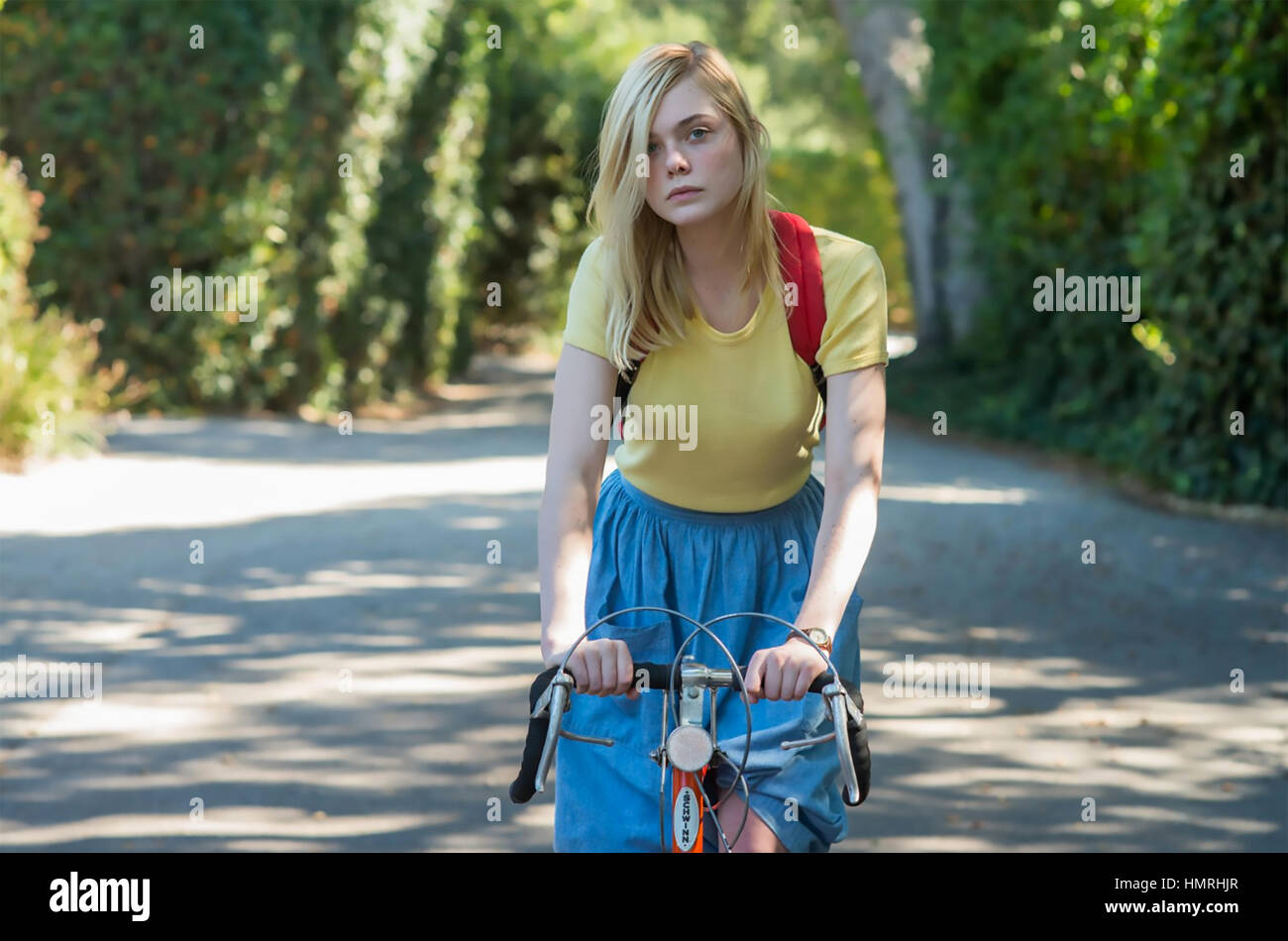 20th CENTURY WOMEN 2016 Annapurna Pictures film with Elle Fanning - Stock Image