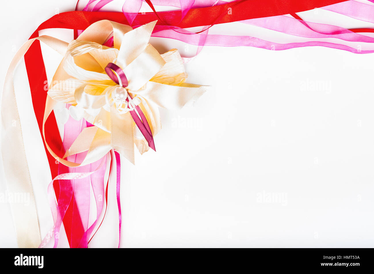 Valetine S Day Mother S Day Birthday Concept Colorful Ribbon