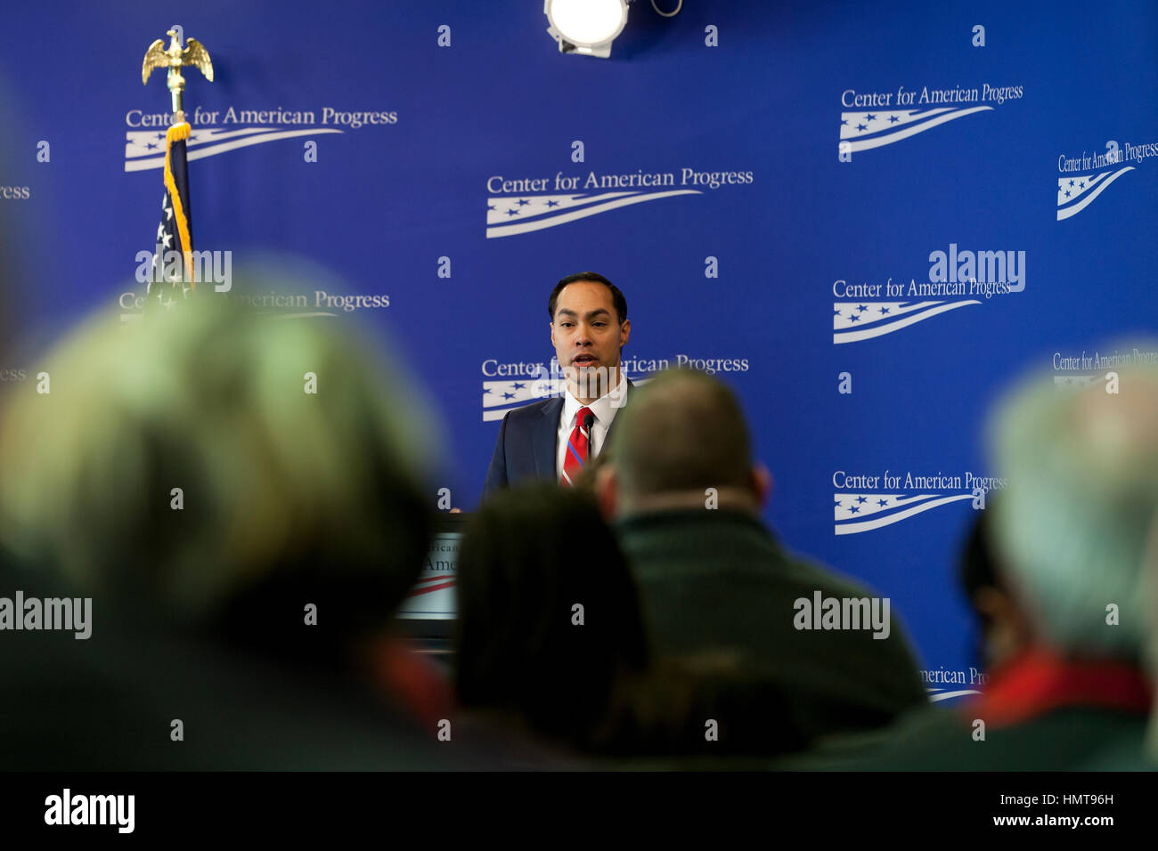 Julian Castro, Secretary of US Housing and Urban Development, 2014 to 2017. Stock Photo