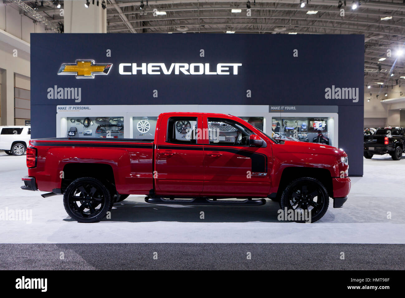 Silverado 98 chevy silverado z71 : 2017 Chevy Silverado 1500 Z71 pickup truck on display at ...