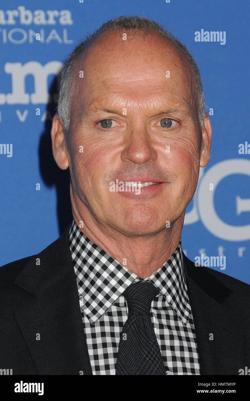 Santa Barbara, CA, USA. 31st Jan, 2015. 31 January 2015 - Santa Barbara, California - Michael Keaton. 30th Annual Stock Photo