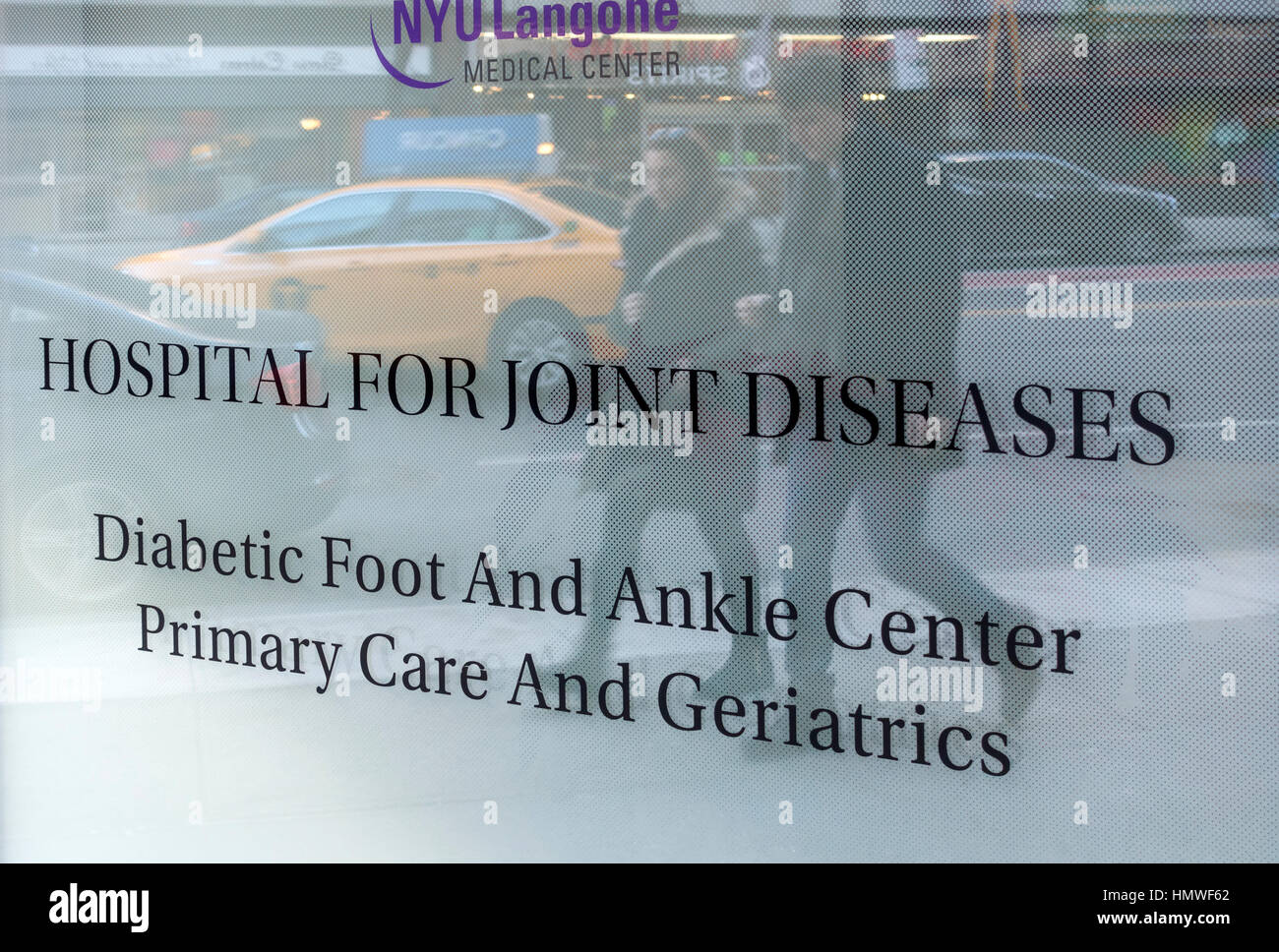 Hospital for Joint Diseases in New York City - Stock Image