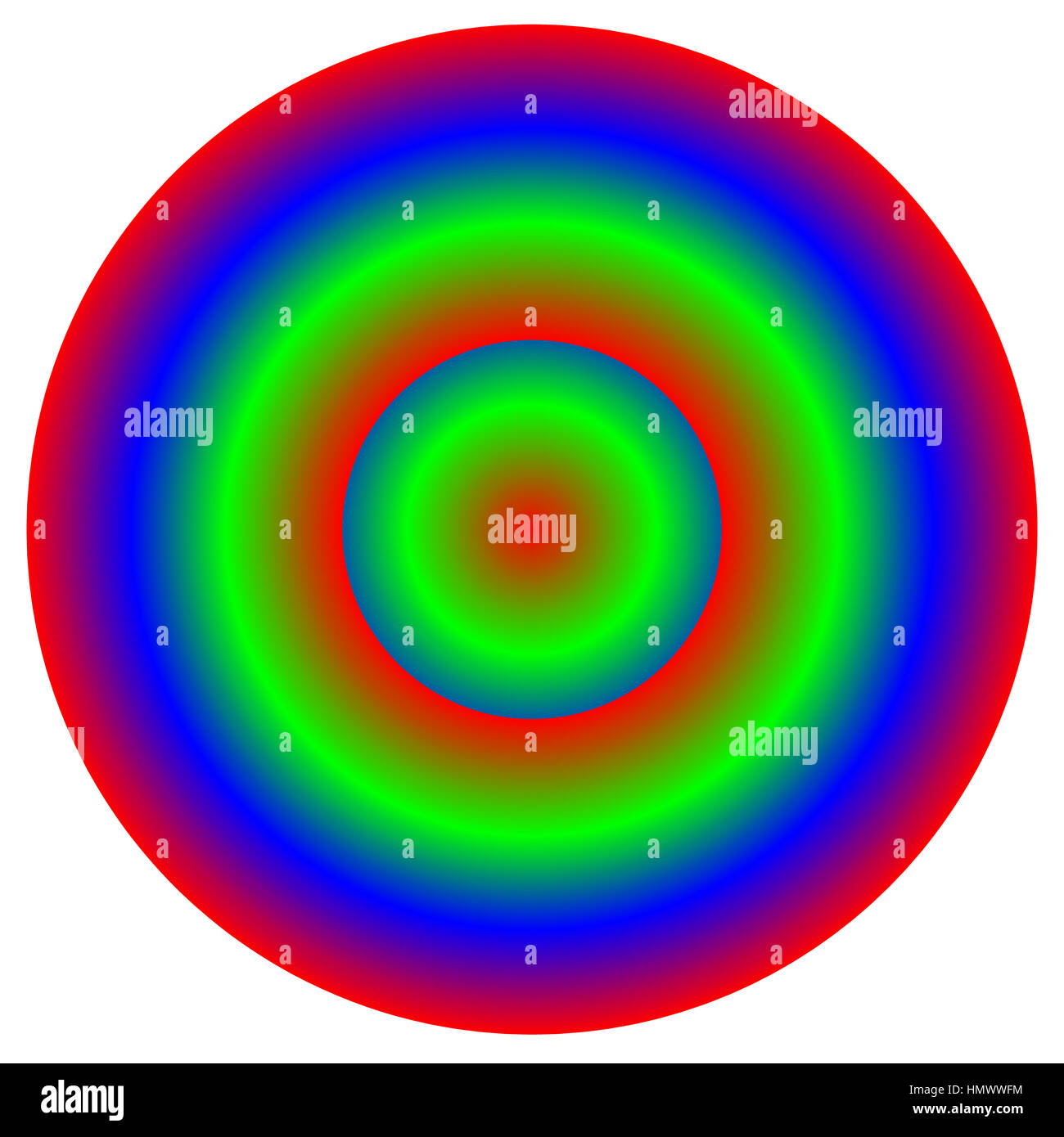 Circular multicolor element - Color wheel, color palette with unique ...