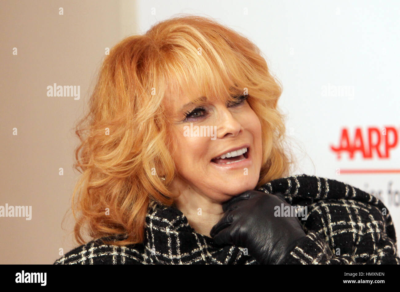 Beverly Hills, USA. 06th Feb, 2017. Ann-Margret, at 16th Annual AARP The Magazine's Movies for Grownups Awards, - Stock Image