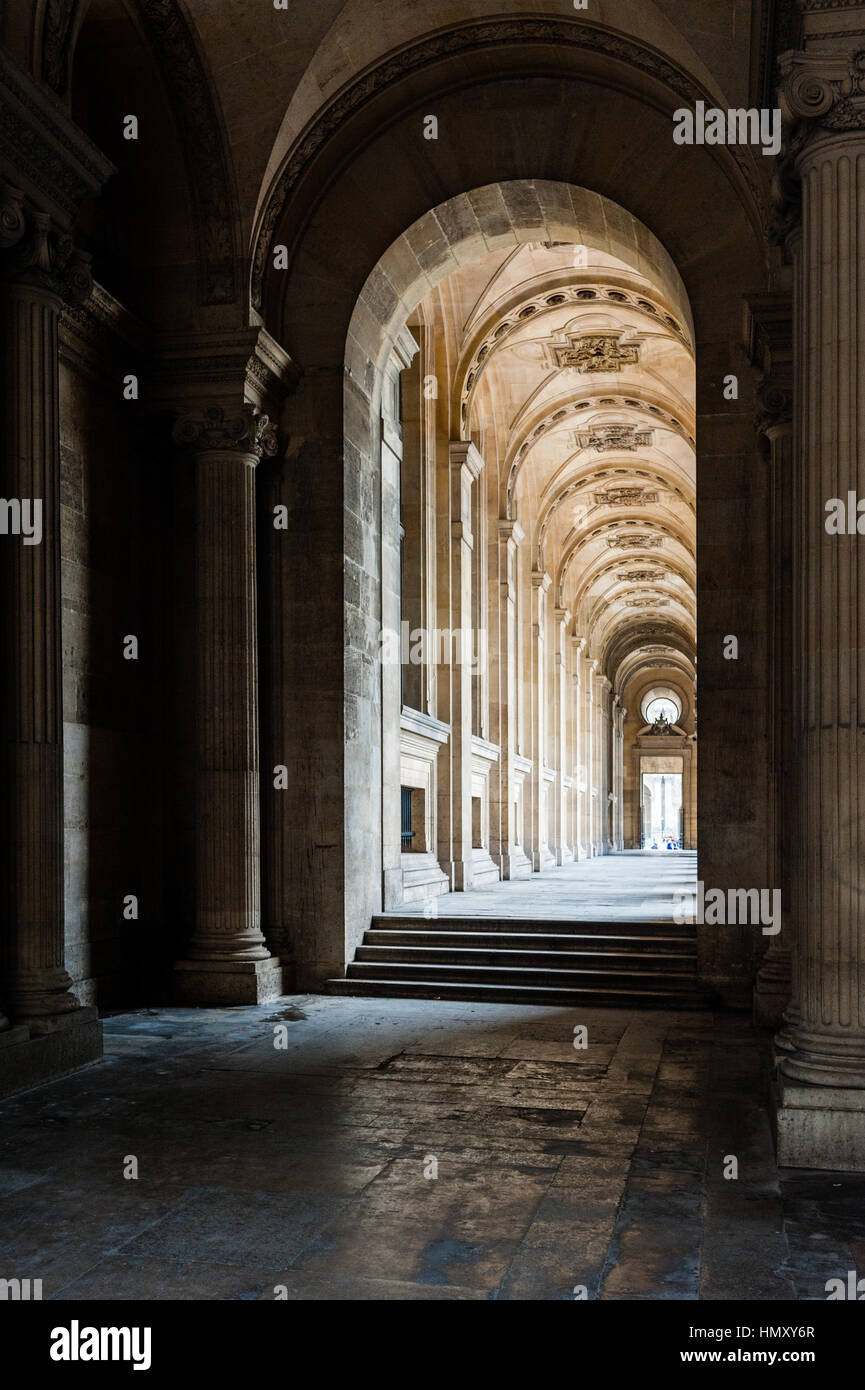 France, Paris, Le Louvre museum - Stock Image