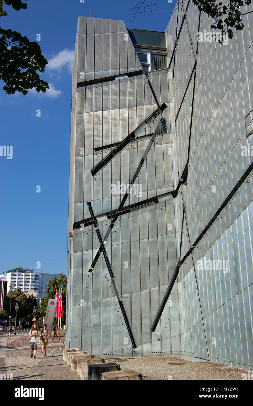 The Jewish museum in Berlin - Stock Image