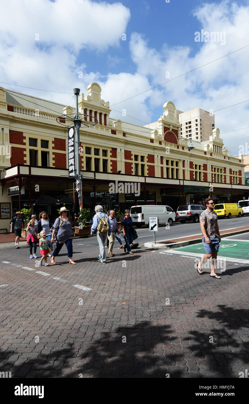Adelaide's Central Market is the City's undisputed food mecca for multicultural cuisine and fresh produce. - Stock Image