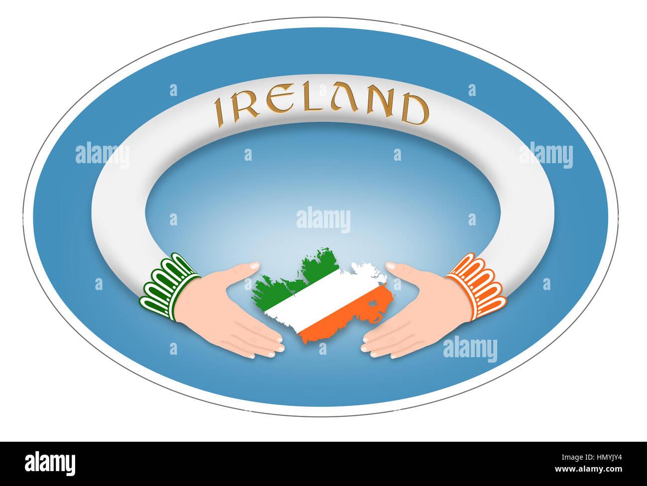 Irish Symbol Irish Ring Stock Photo 133373272 Alamy