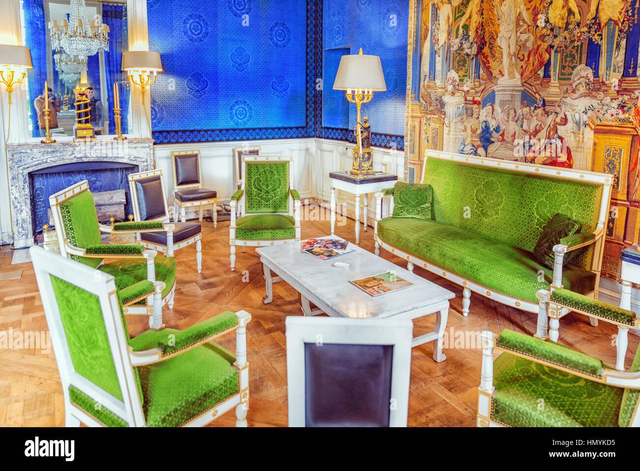 Grand trianon stock photos grand trianon stock images alamy - Cabinet mansart versailles ...