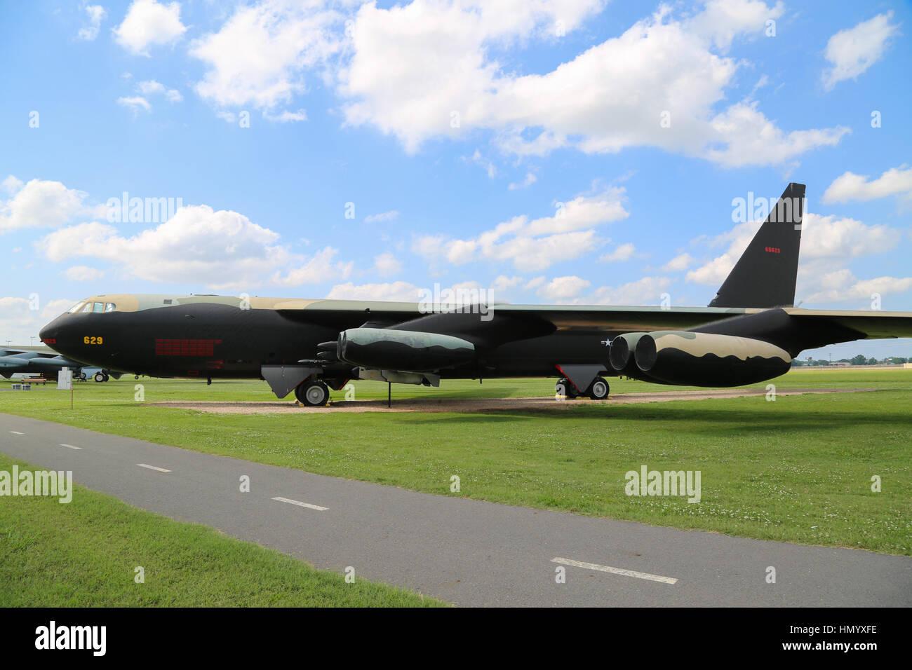 Boeing B-52 Stratofortress - Stock Image