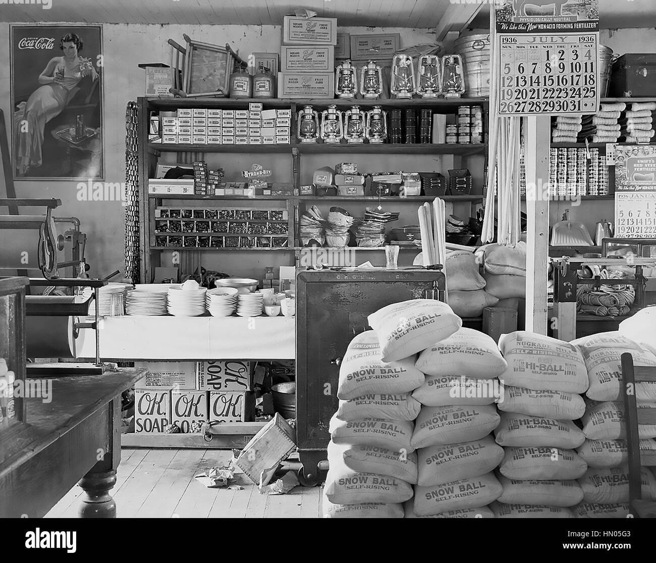 General Store Stock Photos General Store Stock Images: Walker Evans Stock Photos & Walker Evans Stock Images