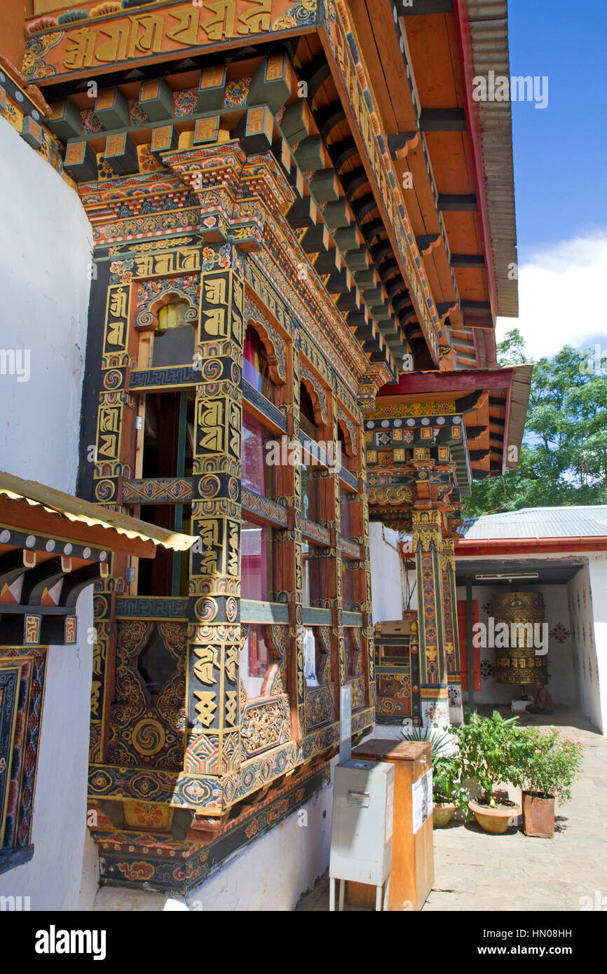 Chimi Lhakhang temple in Punakha - Stock Image