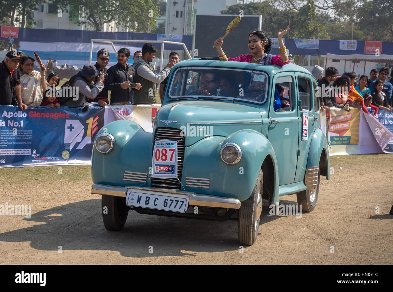 The Statesman Vintage car rally and road show 2017 at Fort William ...