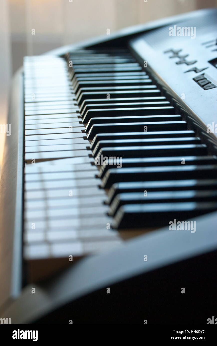 #Piano in the light - Stock Image