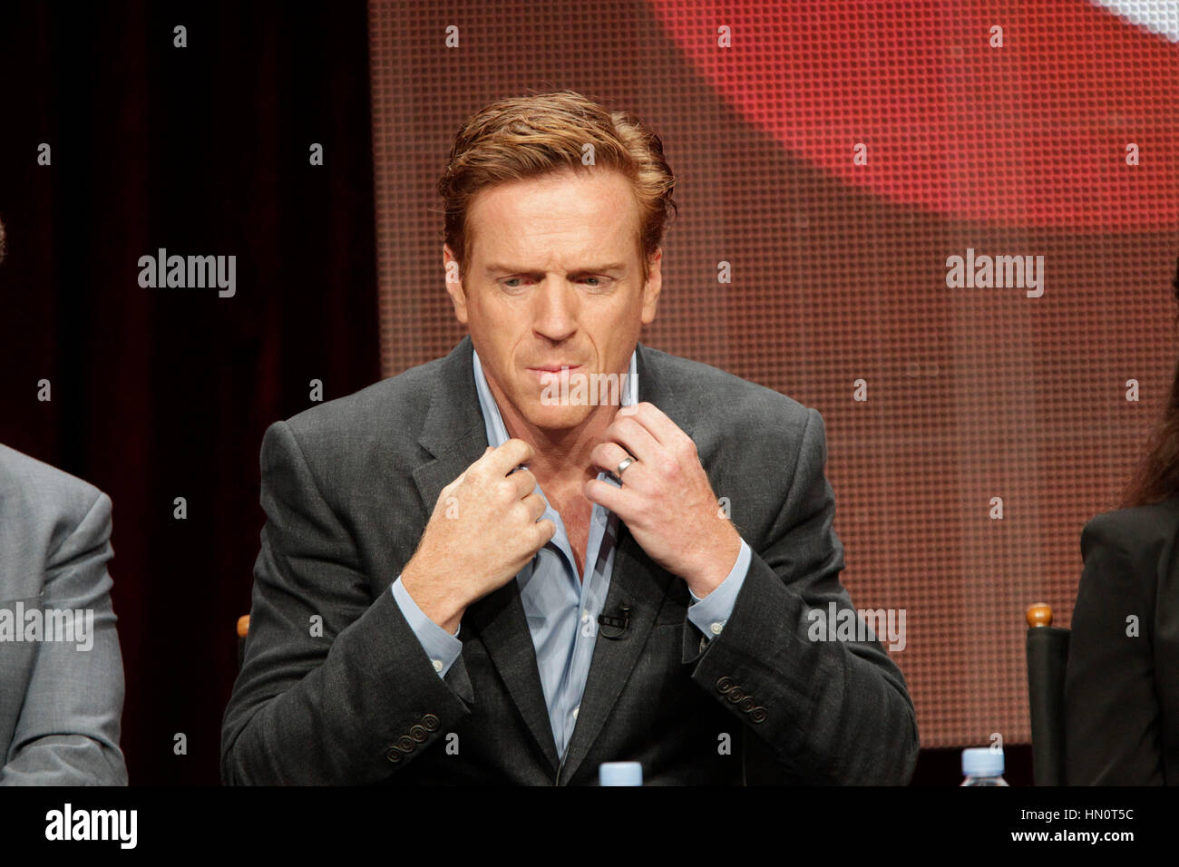 Damian Lewis at the panel for the Showtime TV show, 'Billions' at the 2015 TCAs  on August 11, 2015 in Beverly - Stock Image