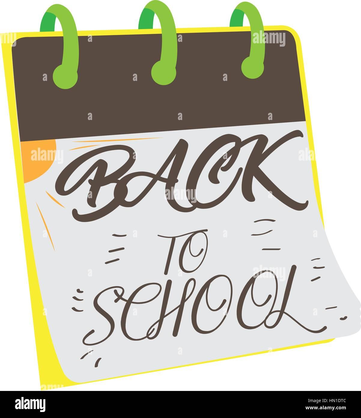 Back to school Stock Vector