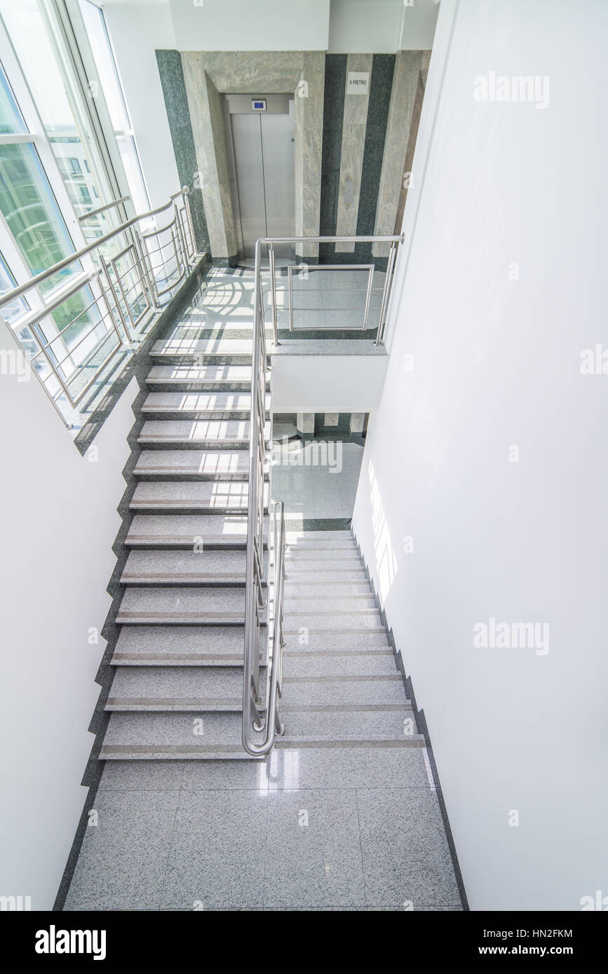 Elevator, Stairs   Staircase Story Office Building
