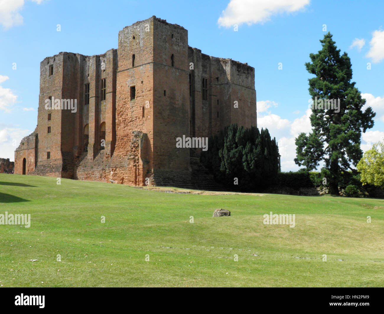 Kenilworth Castle - Stock Image