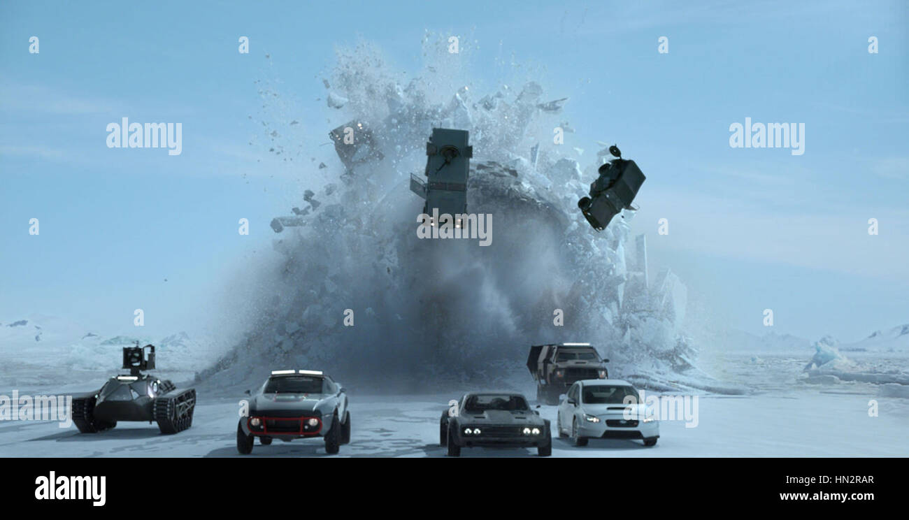FAST & FURIOUS 8 (2017)  F. GARY GRAY (DIR)  UNIVERSAL PICTURES/MOVIESTORE COLLECTION LTD - Stock Image