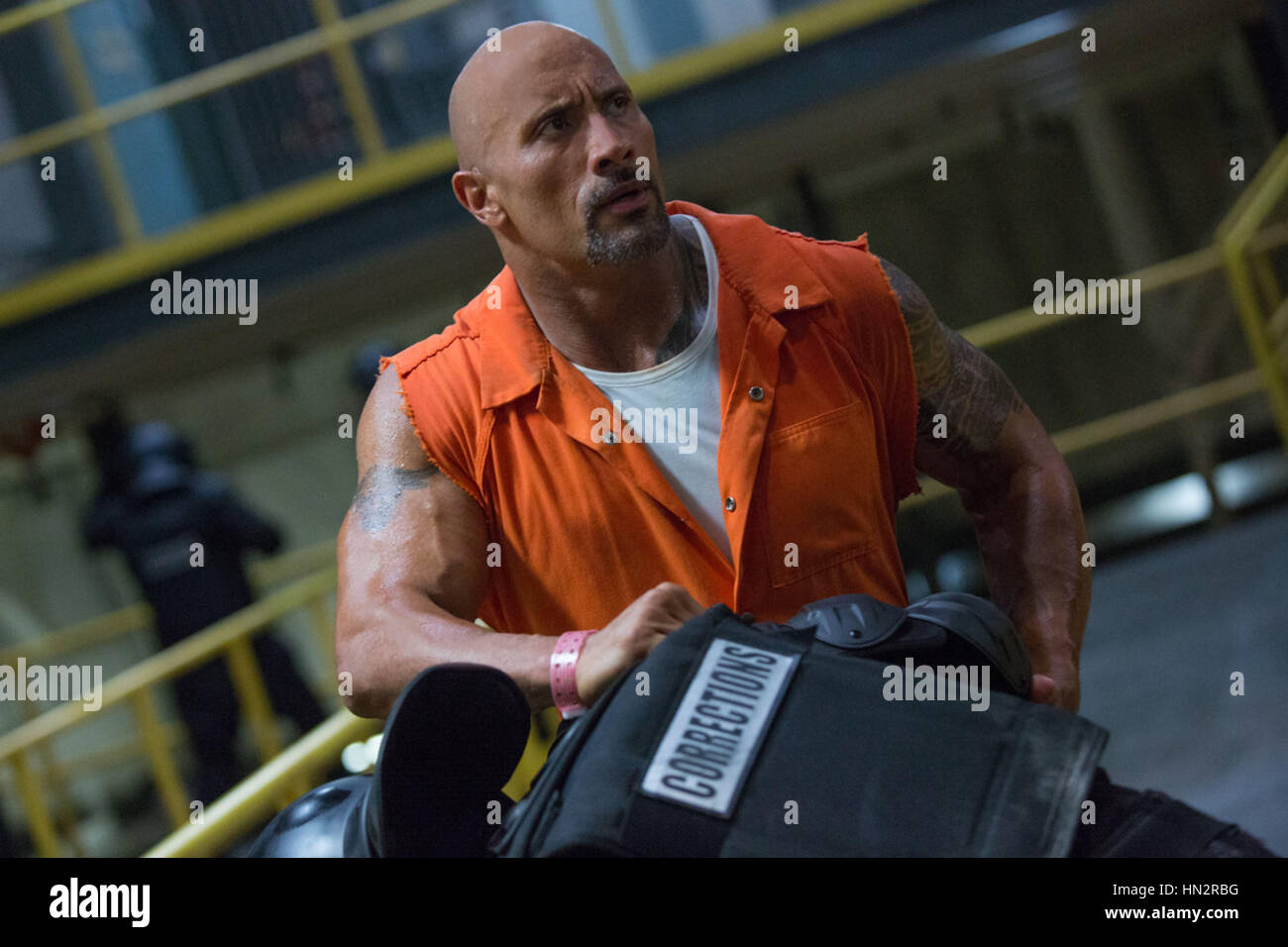 FAST & FURIOUS 8 (2017)  DWAYNE JOHNSON  F. GARY GRAY (DIR)  UNIVERSAL PICTURES/MOVIESTORE COLLECTION LTD - Stock Image