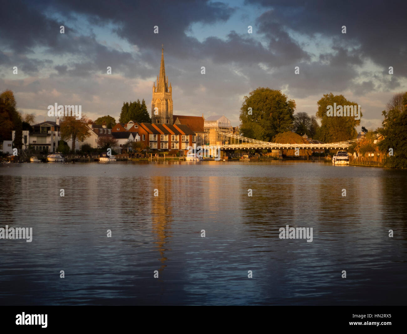 Marlow-on-Thames Stock Photo