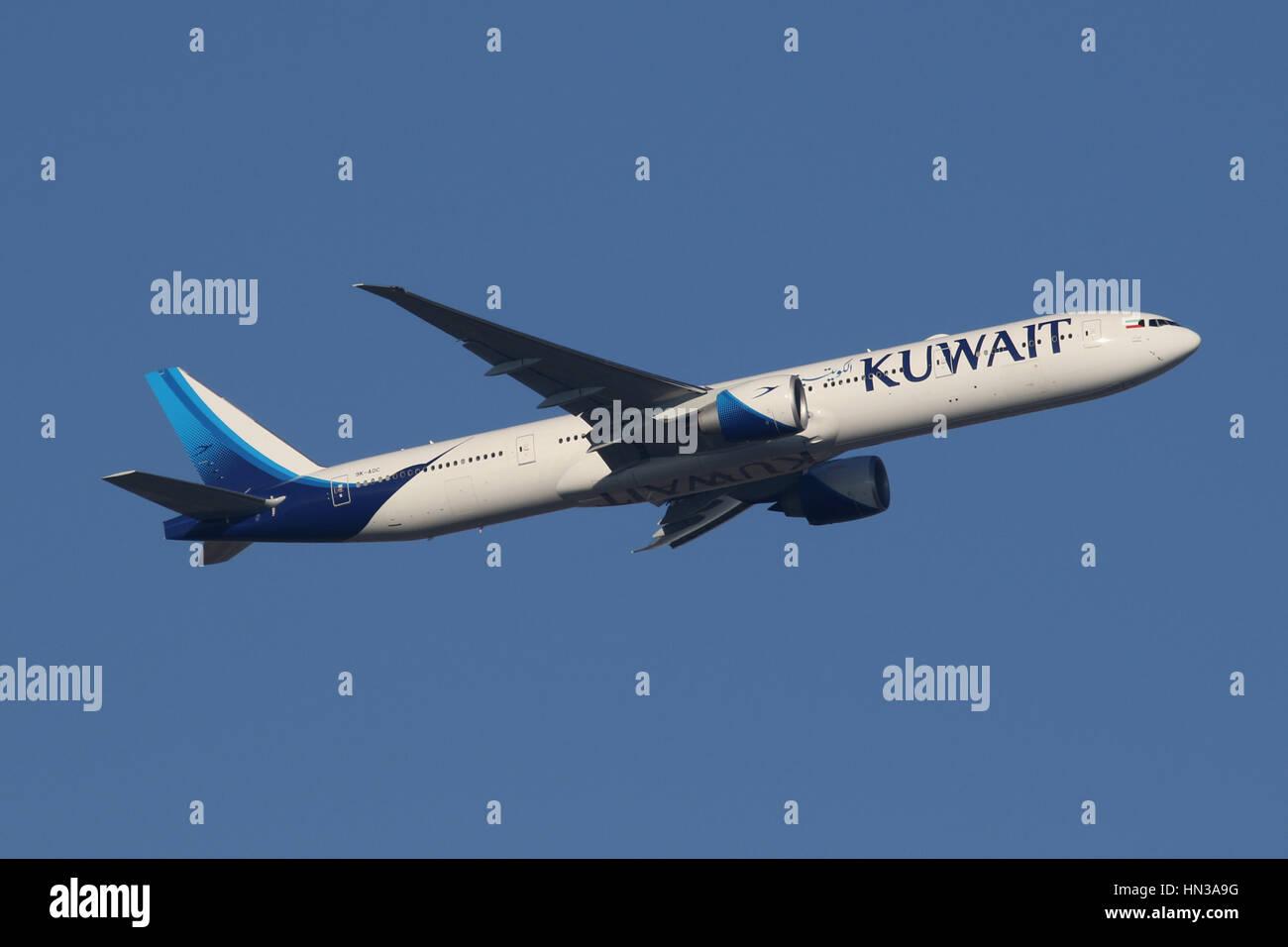 kuwait 777 - Stock Image