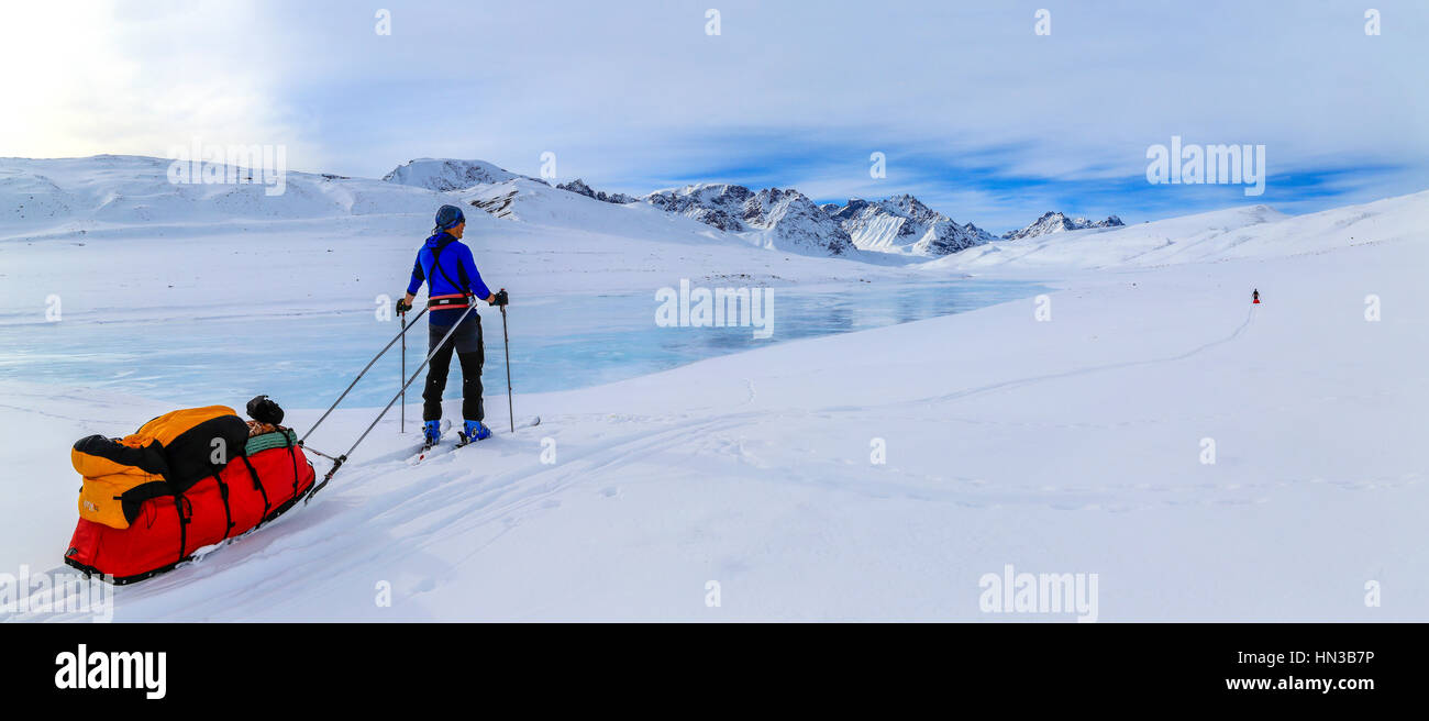 Pulk Sleds Stock Photos & Pulk Sleds Stock Images - Alamy