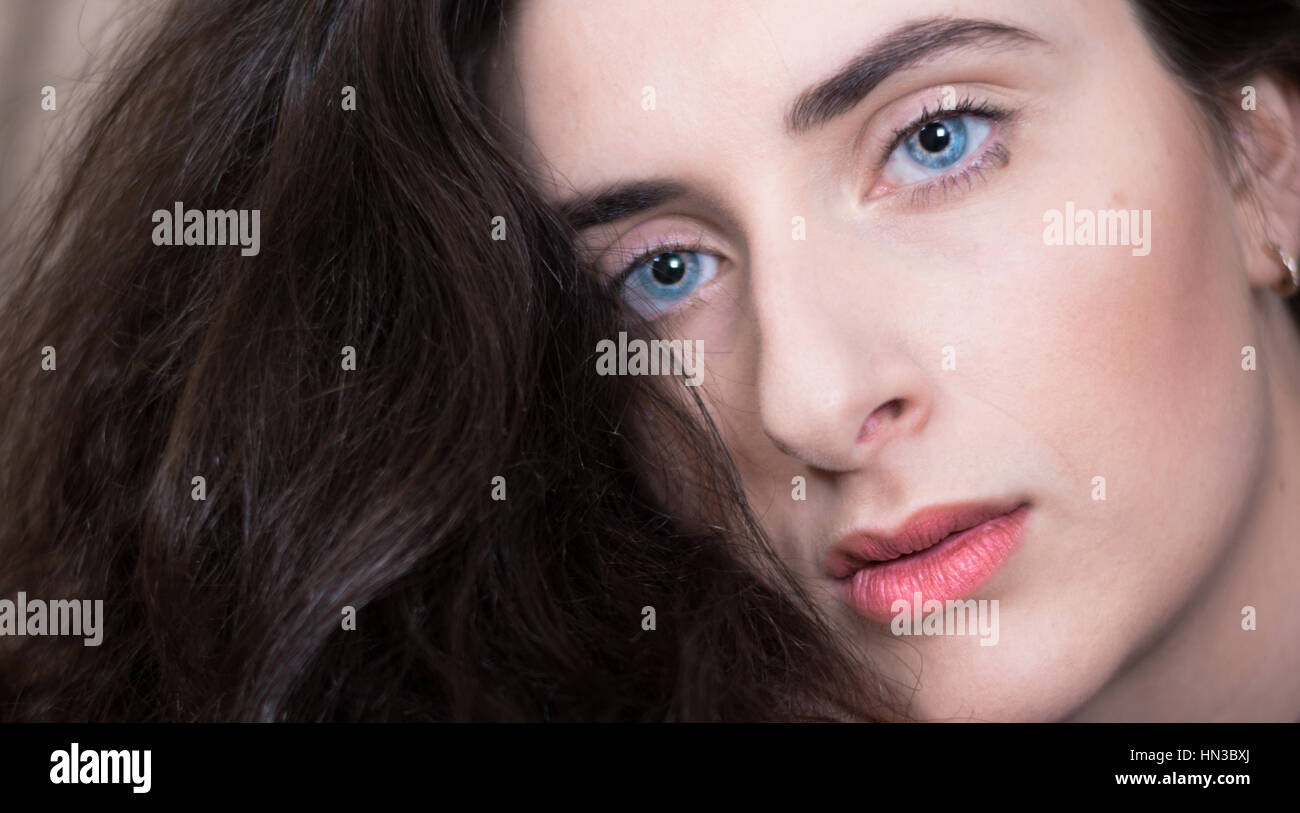 Female Portrait - Stock Image