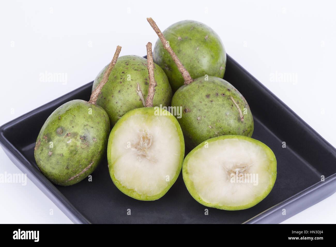 Hog Plum Wild Mango Scientific Name Is Spondias Pinnata L F