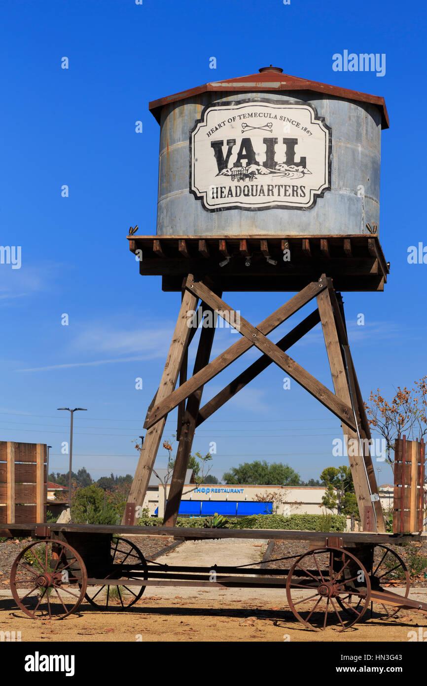 Vail Headquarters Heritage Park, Temecula, California, USA - Stock Image