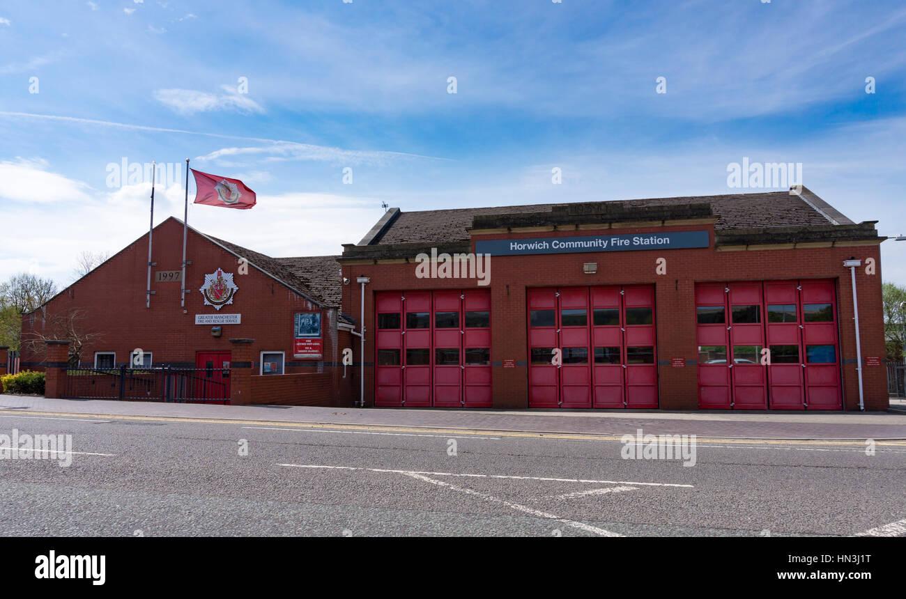 Horwich Community Fire Station - Stock Image
