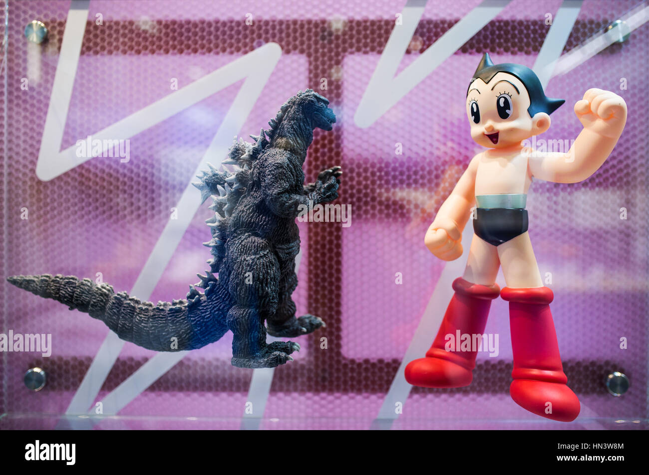 Astro Boy Stock Photos Images Alamy The Movie Action Figure Original Firgures Of Godzilla And