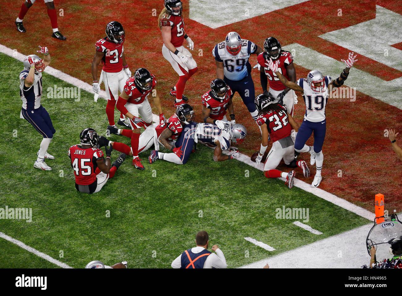 February 05 2017 New England Patriots Running Back James