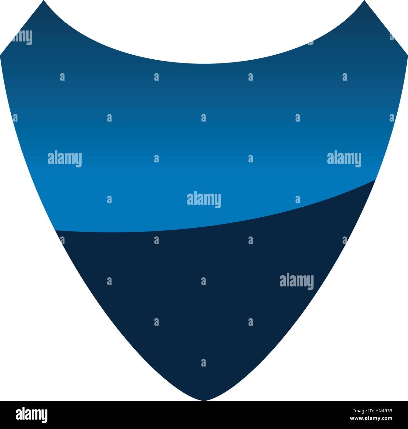 Shield Template Emblem Blank Stock Vector Art & Illustration, Vector ...
