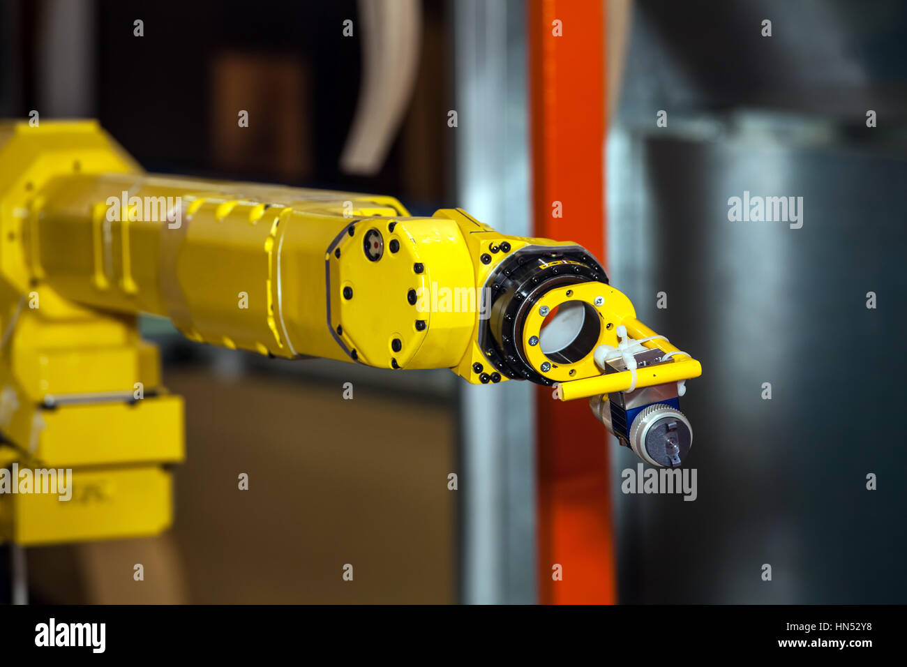 Industrial robot - Stock Image
