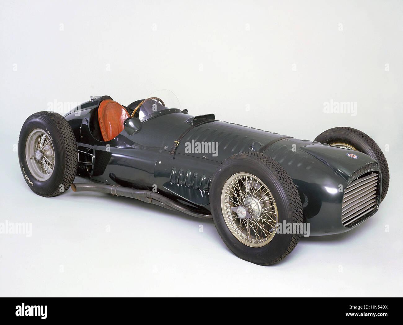 BRM V16 1950 - Stock Image
