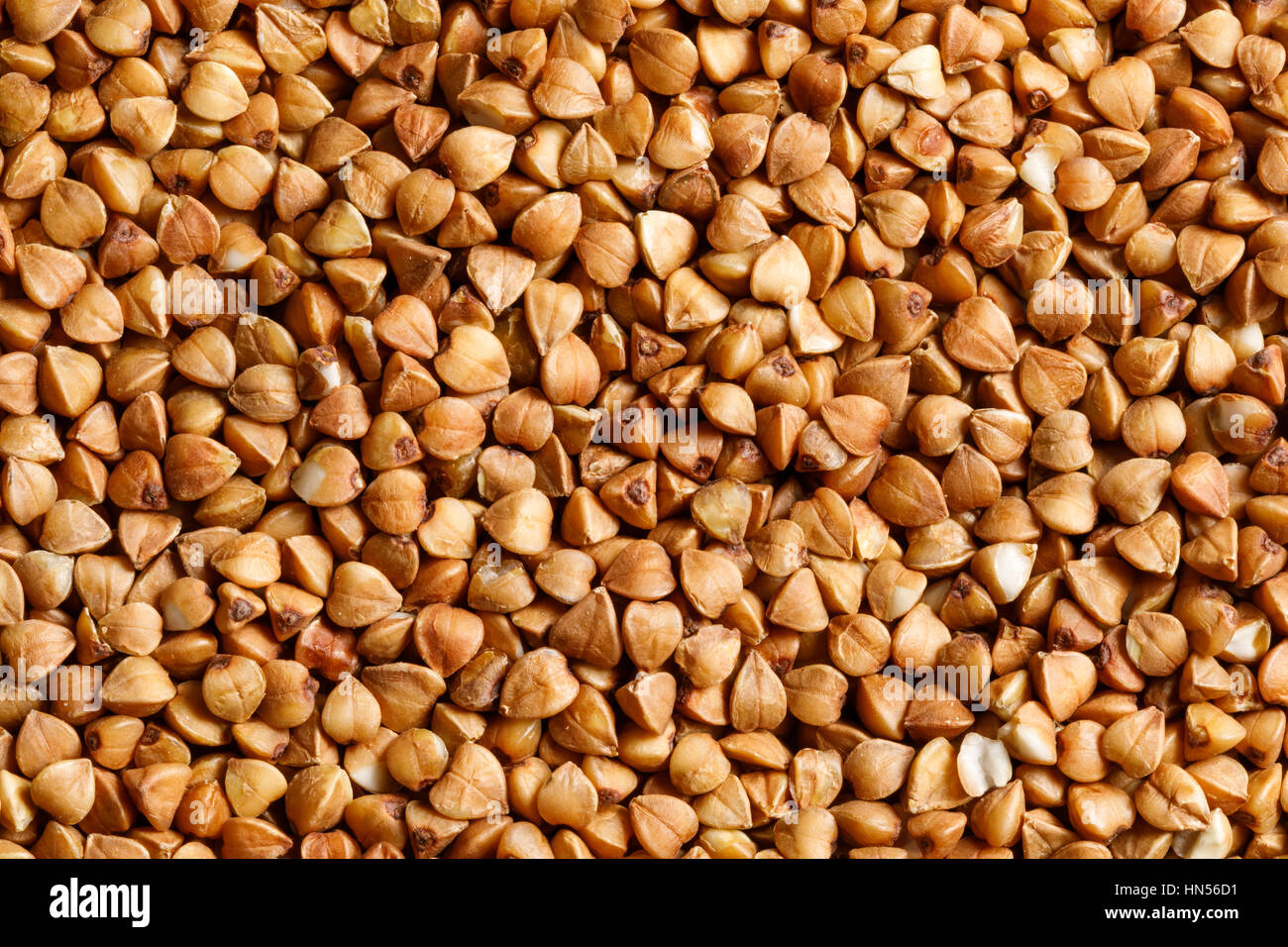 buckwheat raw food ingredient texture macro close up detailed Stock Photo