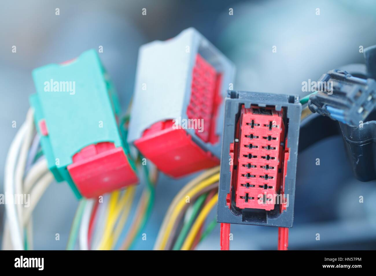 Car Wires Stock Photos & Car Wires Stock Images - Alamy