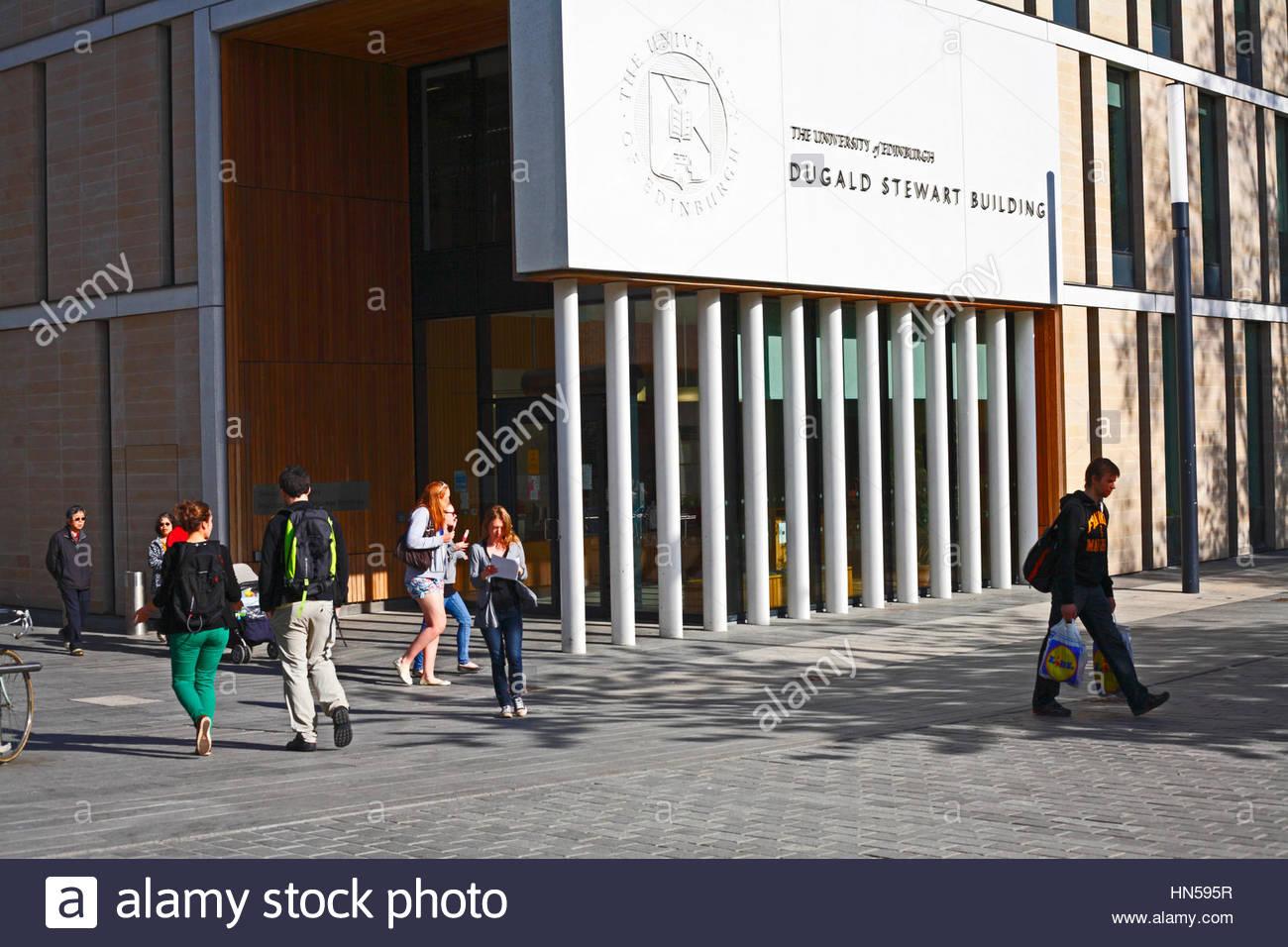 Dugald Stewart building, Edinburgh University - Stock Image