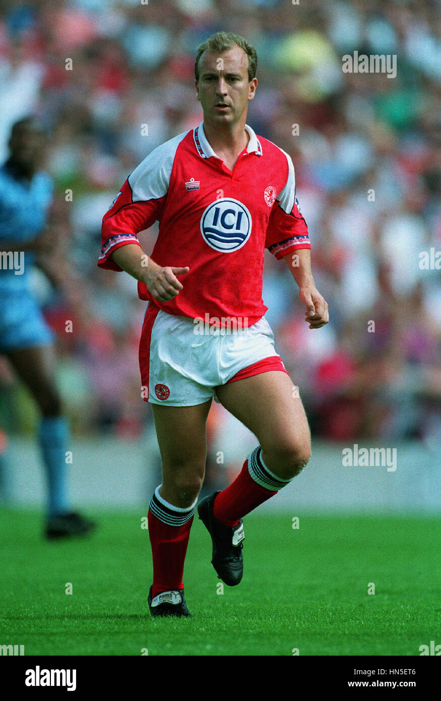 ANDY PEAKE MIDDLESBROUGH FC 17 August 1992 - Stock Image