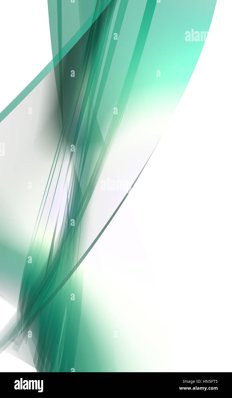 Abstract flourish - Stock Image