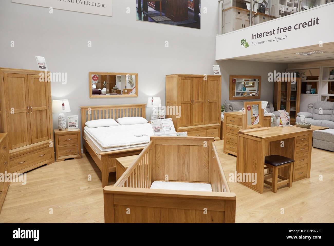 Oak Furniture Land Store Stock Photos Oak Furniture Land Store
